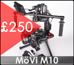 Movi M10 and RED Epic hire at Gear Factory