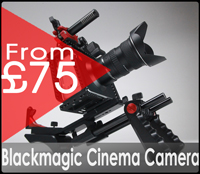 Blackmagic cinema camera gear factory hire rental in central london