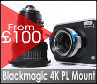 Blackmagic 4K production camera with PL mount